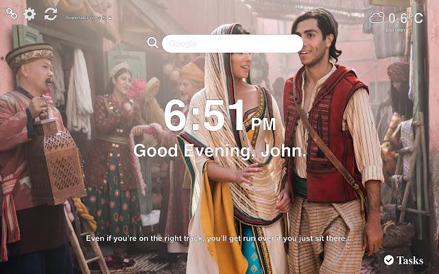 Aladdin 2019 HD Wallpapers New Tab