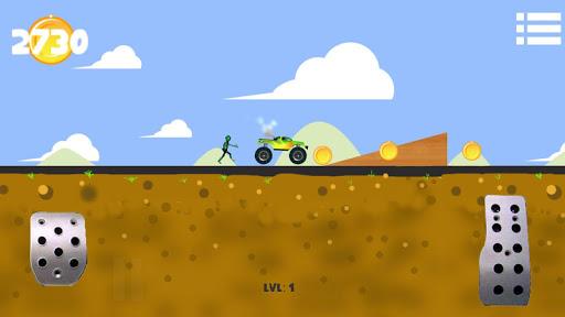 Zombie Hill Climb Flappy Race