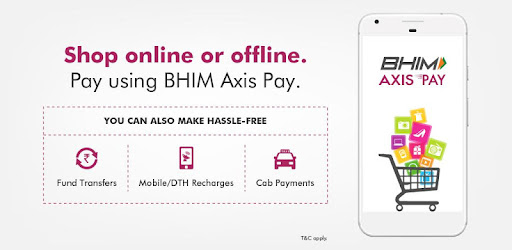 BHIM Axis Pay:UPI,Online Recharge & Money Transfer - Apps on
