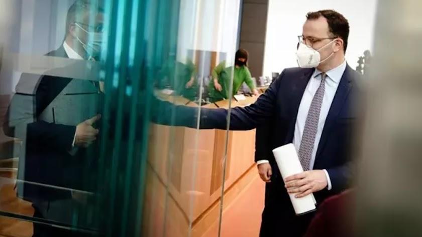 El ministro de Salud alemán, Jens Spahn