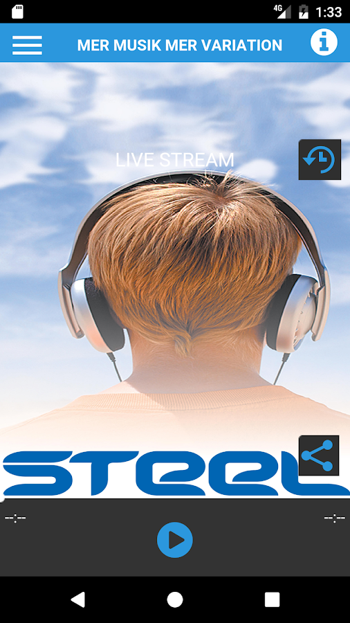 steelfm- screenshot