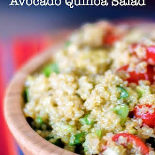 Avocado Quinoa Salad.