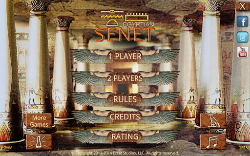 Egyptian Senet (Ancient Egypt Game) android2mod screenshots 4