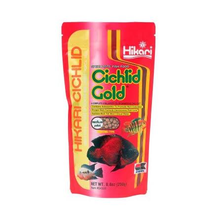 Hikari Ciklid Gold Färg Medium 250g