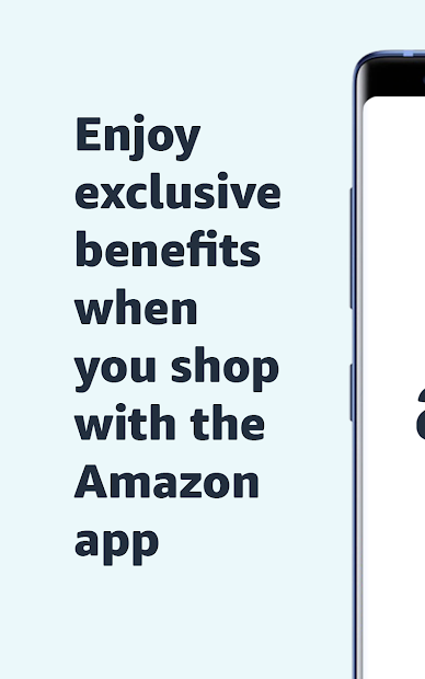 Amazon Shopping - Search, Find, Ship, and Save Android App Screenshot