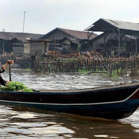 stranger by Gedion Kristianto - Transportation Boats