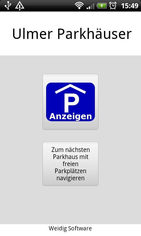 Скриншот Ulmer Parkhäuser