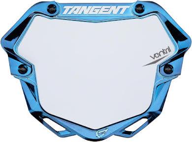 Tangent Pro Ventril 3D Number Plate - Chrome alternate image 0