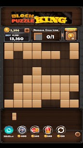 Block Puzzle King Mod Apk: Wood Block Puzzle 4