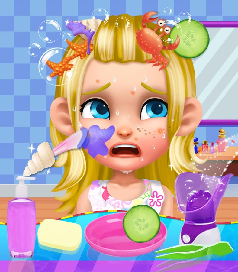 Summer Splash Beach Girl Salon- screenshot