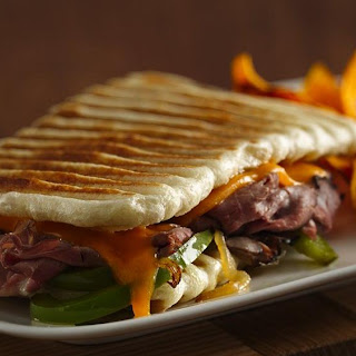 Philly Cheesesteak Panini.