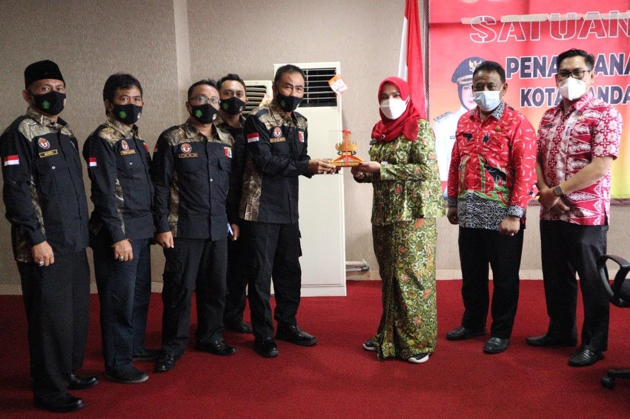 HIPAKAD HSCL Silaturrahim Dengan Walikota Bandar Lampung