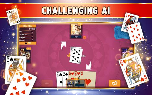 Mau Card Game
