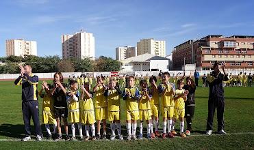 """Photo: Isla Cristina F.C. Alevín """"A"""" Entrenadores, Alex Boa y Braulio Losada"""