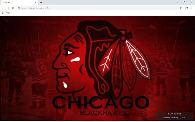 NHL Chicago Blackhawks New Tab