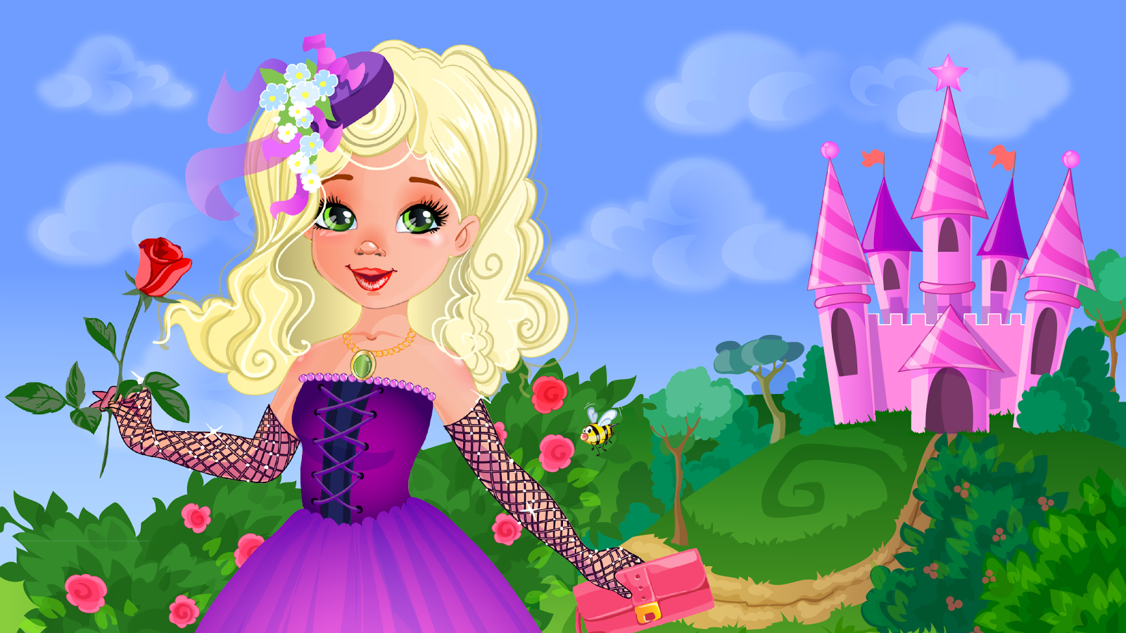 Game Dress Up Putri Cilik Apl Android Di Google Play