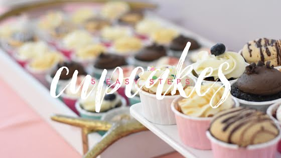 Easy Cupcakes - YouTube Thumbnail Template