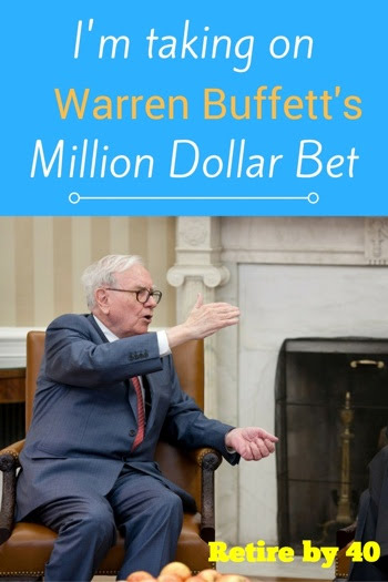 I'm taking on Warren Buffett's Million Dollar Bet