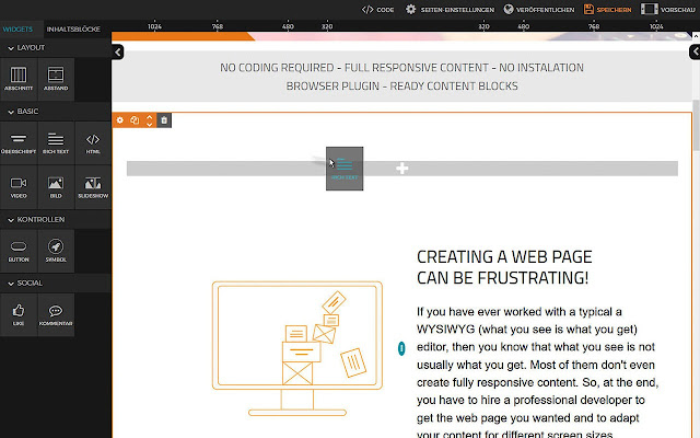 DragDropr - Drag & Drop Page Builder