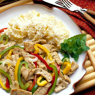 Southwestern Pork and Pepper Stir-fry.