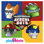 App Icon for Transformers Rescue Bots: Save Griffin Rock App in Czech Republic Google Play Store