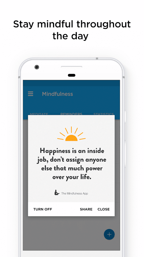 The Mindfulness App: relax, calm, focus and sleep – скриншот