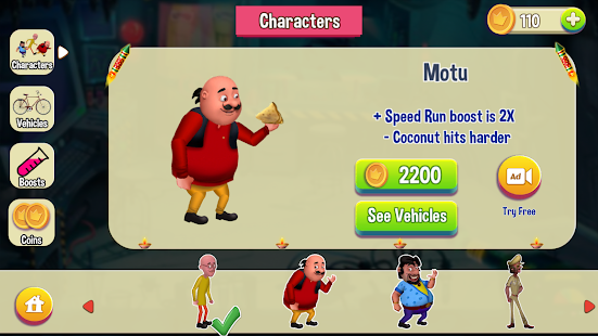 Motu Patlu Game- screenshot thumbnail