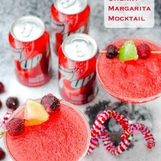 Cherry Margarita Mocktail.