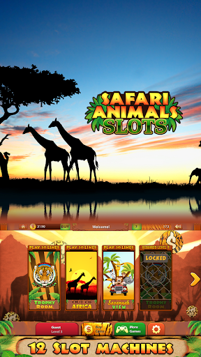 Safari Animals Slots Free 1.1 screenshots {n} 1