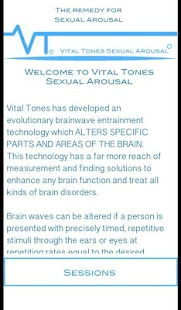 Vital Tones Sexual Arousal Pro- screenshot thumbnail