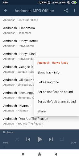 Lagu Andmesh Hanya Rindu : andmesh, hanya, rindu, Andmesh, Offline, Download, Android, APKtume.com