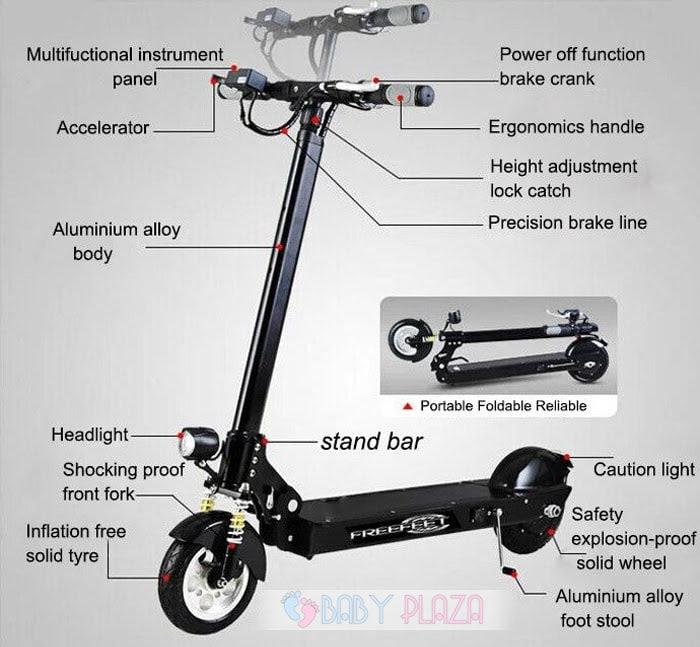 Xe trượt điện scooter M5 cao cấp 11