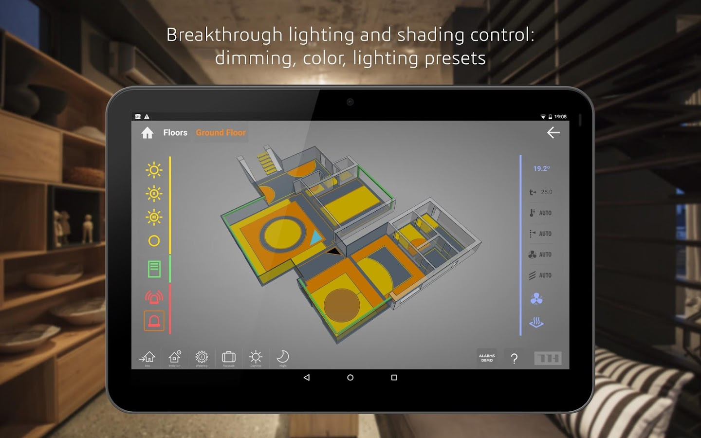 THRONE 3D Smart Home/Building- screenshot