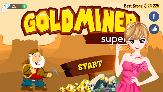 Gold Miner Super- screenshot thumbnail