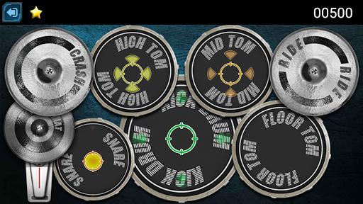 Drum Hero (rock music game, tiles style) 2.3 screenshots 2