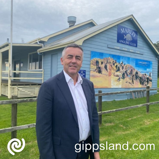 Local MP Darren Chester has announced Marlo Angling Club will receive a $336,000 upgrade