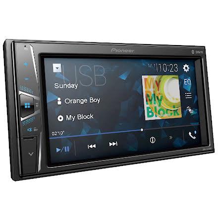 Pioneer 2DIN Mediaspelare med 6.2 skärm