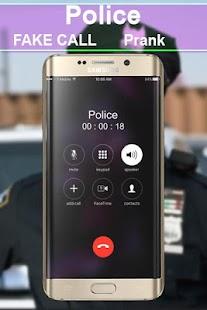 police fake call prank - náhled
