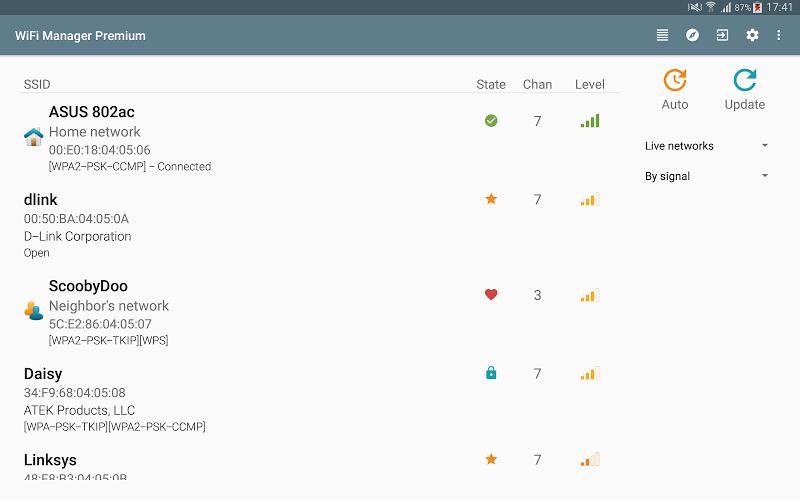 WiFi Manager Screenshot 6