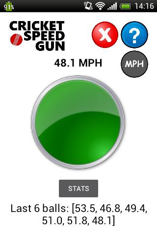 Cricket Speed Gun