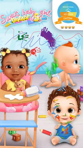 Sweet Baby Girl Daycare 5 - Newborn Nanny Helper  screenshots 1