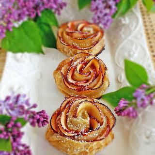 Apple Roses Dessert.