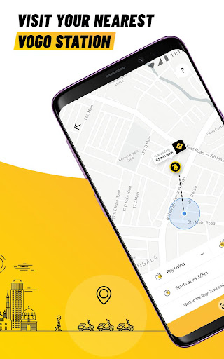 VOGO -Daily Scooter Rental App | Rent.Ride.Return. screenshots 2