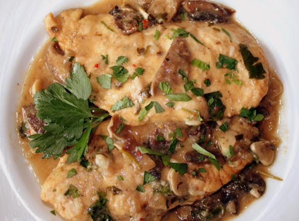 Garlic-mushroom Chicken Recipe