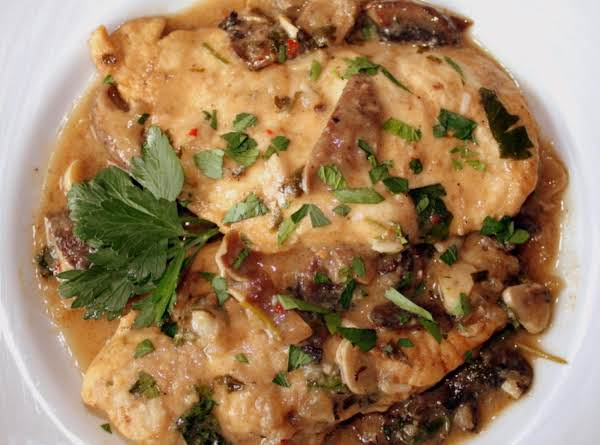 Garlic-mushroom Chicken Recipe