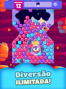 Angry Birds Dream Blast Apk Mod Dinheiro + Vida Infintos 8