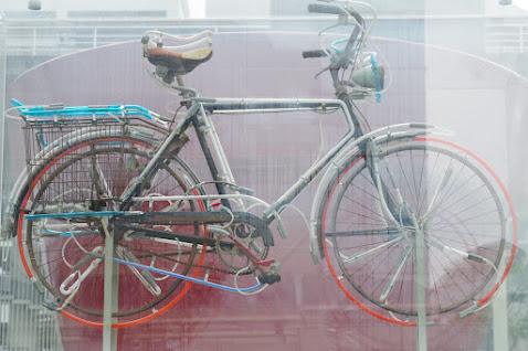 放置自転車 拾う