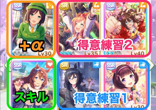 ウマ娘_サポートカードデッキ編成2