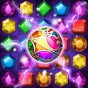 Jewels Magic Quest : Match 3 Puzzle icon
