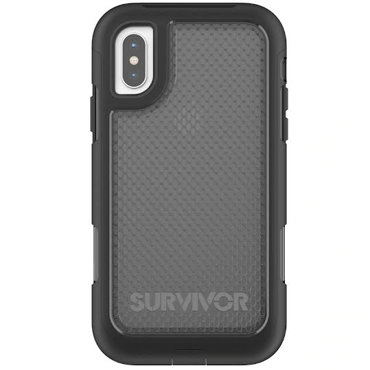 Griffin iPhone X Survivor Extreme Svart/Transparent